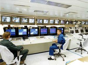 Engine control room