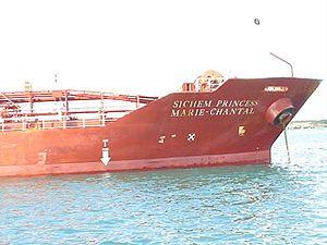 Ship terminology glory hole