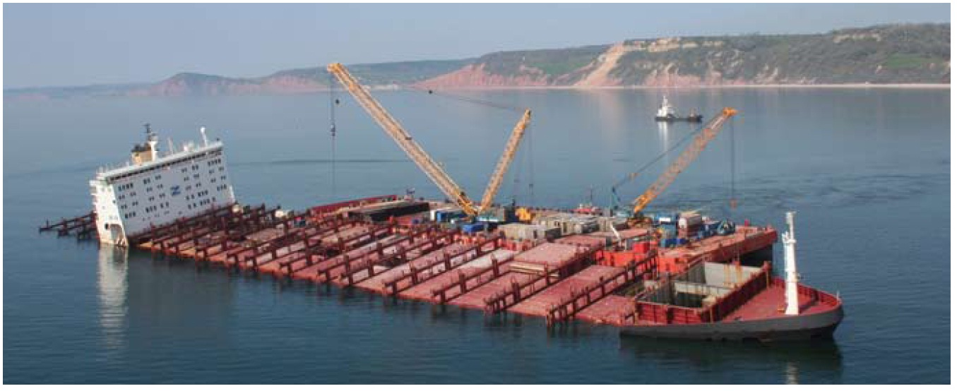 Msc napoli structural failure investigation report for Structure container maritime