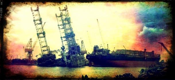 2012.12.03 - Jurong Shipyard Jackup Rig Accident Figure 1