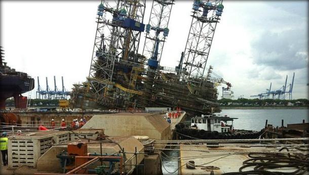 2012.12.03 - Jurong Shipyard Jackup Rig Accident Figure 2