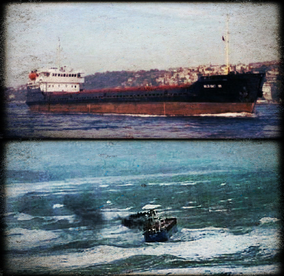 2012.12.05 - Storm in the Black Sea Sinks MV Volgo Balt 199 & Beached MV BBC Adriatic Figure 1