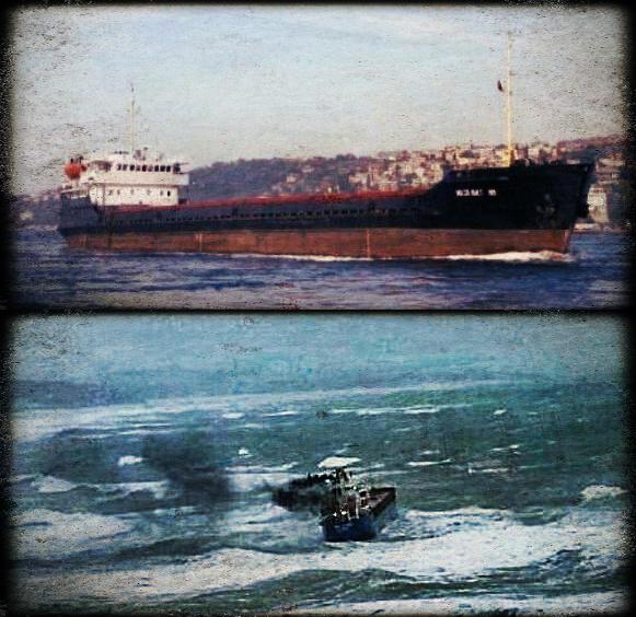 2012.12.05 - Storm in the Black Sea Sinks MV Volgo Balt 199 & Beached MV BBC Adriatic Figure 1
