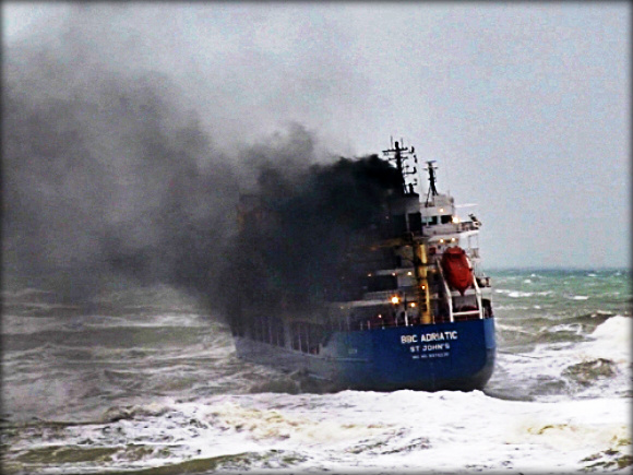 2012.12.05 - Storm in the Black Sea Sinks MV Volgo Balt 199 & Beached MV BBC Adriatic Figure 2