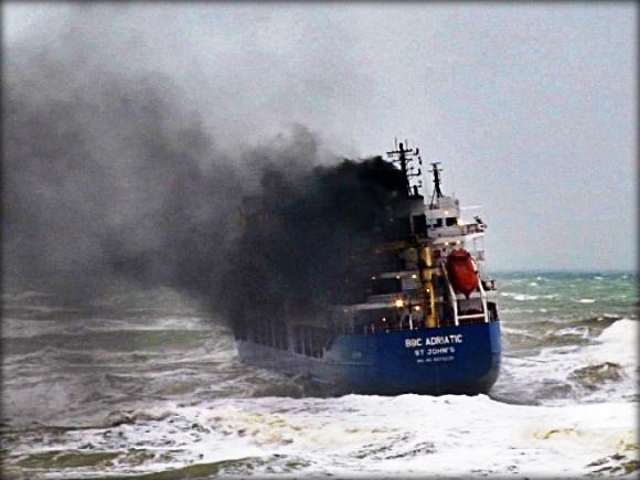 2012.12.05 - Storm in the Black Sea Sinks MV Volgo Balt 199 & Beached MV BBC Adriatic Figure 2