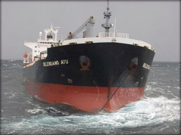 2012.12.10 - MV Selendang Ayu Grounding Figuer 3