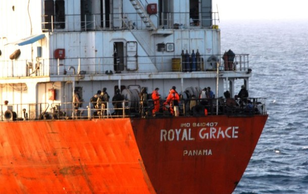 2013.05.16 - MT Royal Grace Released from Somali Pirates Figure 2
