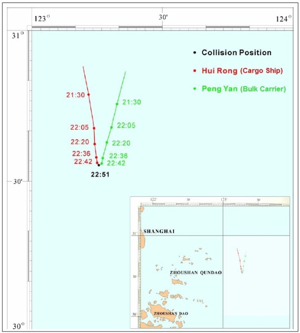 2013.04.08 - Fatal Bulk Carrier and Cargo Ship Collision Figure 4