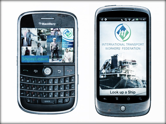 2013.04.17 - ITF Releases Mobile Apps to Aid Seafarers