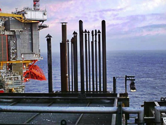 Fire Caused By Crane S Engine Onboard Offshore Platform