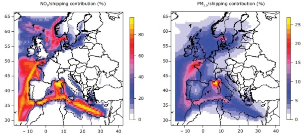 2013.06.11 - The Impact of International Shipping on European Air Quality Figure 4
