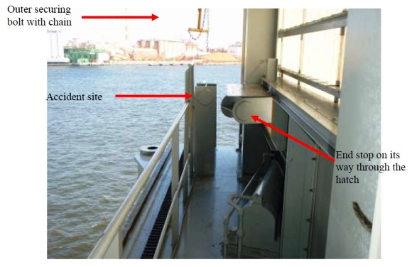 2013.06.17 - Investigation Report on Fatality Caused by Crane Trolley End Stop onboard Cargo Ship Figure 3