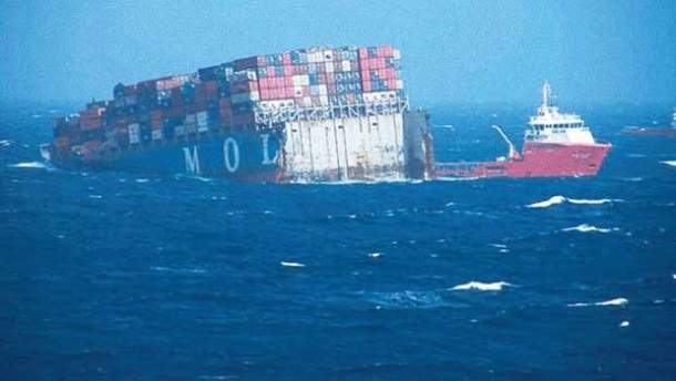 2013.06.18 - MOL Comfort Containership Sinks After Breaking in Two Figure 3