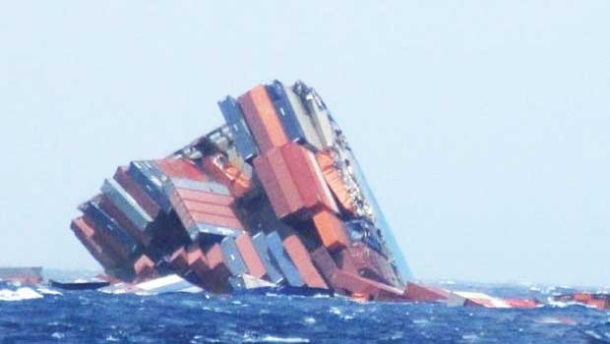 2013.06.18 - MOL Comfort Containership Sinks After Breaking in Two Figure 4