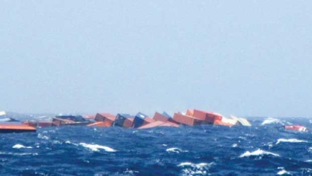 2013.06.18 - MOL Comfort Containership Sinks After Breaking in Two Figure 5