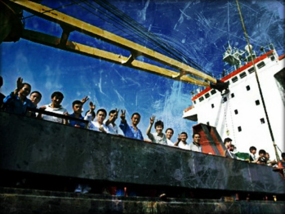 2013.07.17 - Abandoned Seafarers Incident in the UK