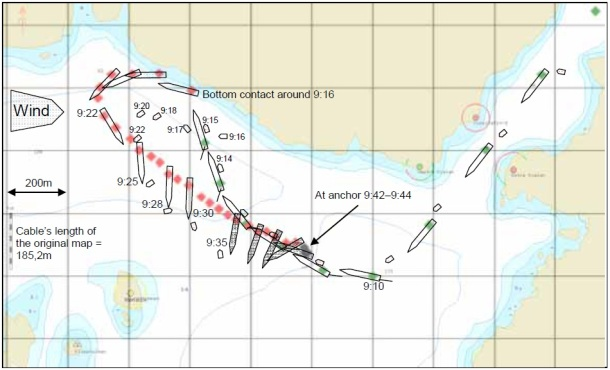 2013.08.12 - Attempts for Pilot Disembarkation in Rough Sea Cause Bulk Carrier Grounding - Investigation Report Figure 5