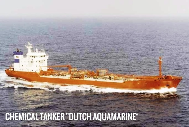 2013.07.15 - Collision Between General Cargo Ship & Chemical Tanker in Dover Strait TSS - Investigation Report Figure 3