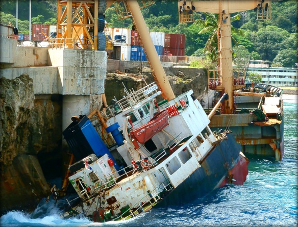 2013.07.22 - Foundering of the General Cargo Ship Tycoon - Investigation Report Figure  1