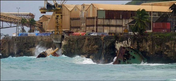 Foundering Of The General Cargo Ship Tycoon