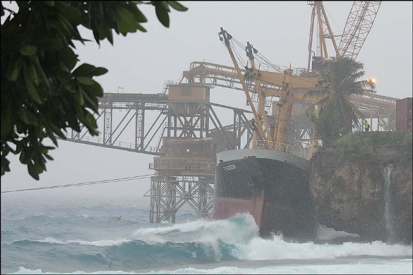 2013.07.22 - Foundering of the General Cargo Ship Tycoon - Investigation Report Figure  4