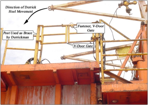 "2013.08.26 - Fatal Fall Through ""V"" Door Onboard Offshore Platform - Investigation Report Figure 4"