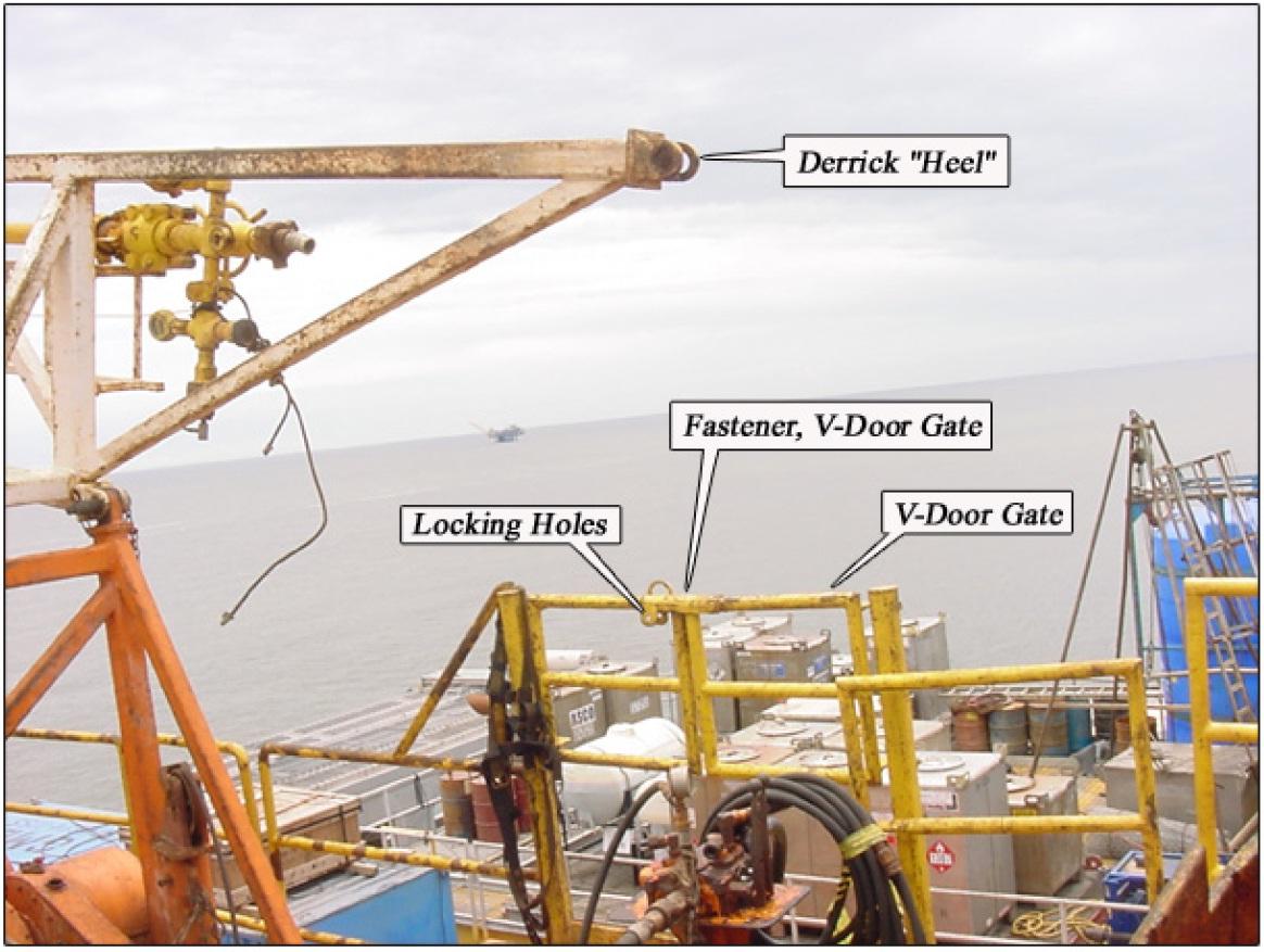 Fatal Fall Through V Door Onboard Offshore Platform