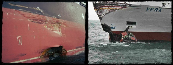 2013.09.03 - Collision Between Tanker and Containership - Investigation Report Figure 1