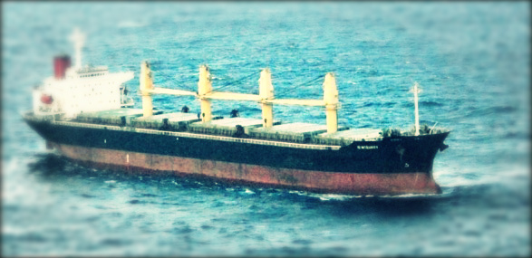 2013.09.22 - Breakdown and Subsequent Drift of Bulk Carrier - Investigation Report Figure 1