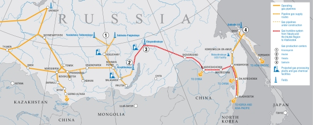 2013.09.24 - Russian Natural Gas export Opens Eastern Horizons