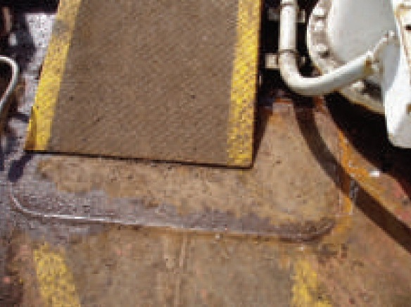2013.10.04 - Corrosion Under Walkways on Oil Tankers Figure 5