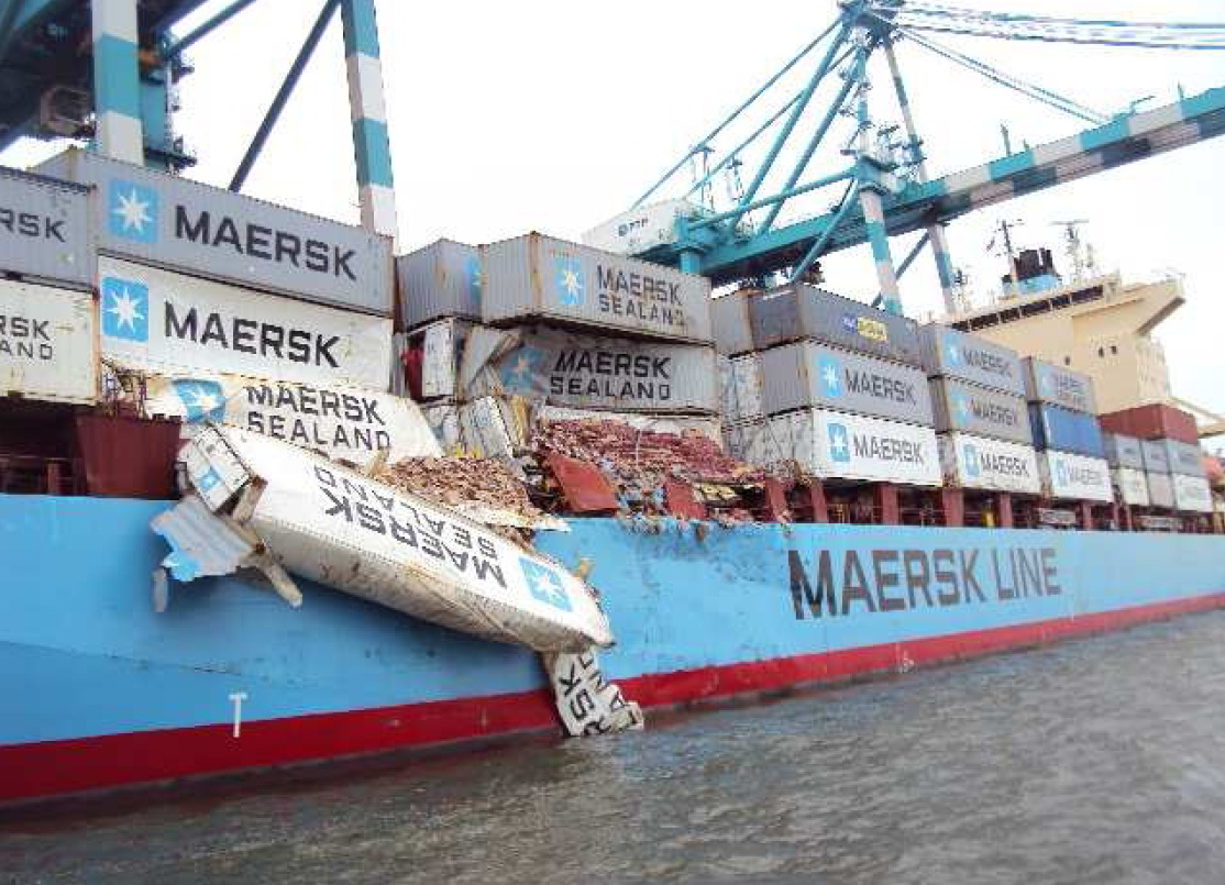 Collision Between Bulk Carrier And Containership Investigation