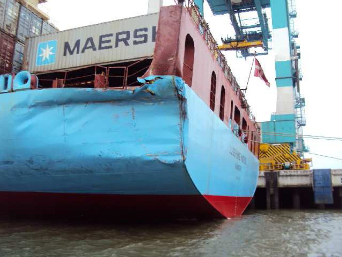 Collision Between Bulk Carrier And Containership