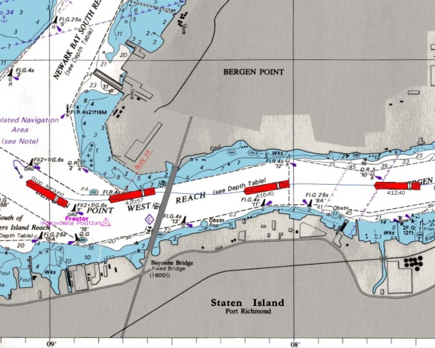 Containership Grounding in New York Harbor - Investigation Report Figure 4