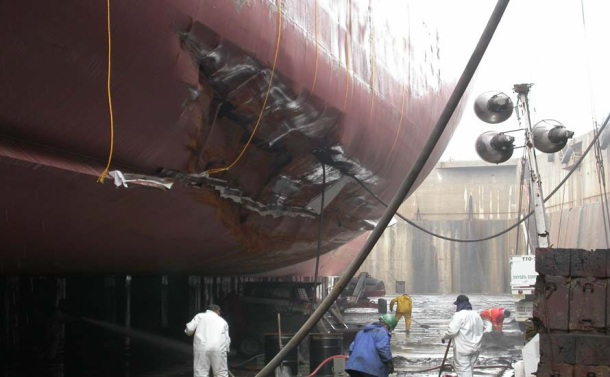 Containership Grounding in New York Harbor - Investigation Report Figure 5