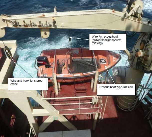2013.11.11 - Seaman Killed Due to Rescue Boat Hook Failure - Investigation Report Figure 3