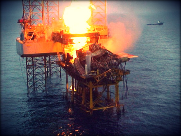 2013.11.18 - Blowout and Consequent Fire onboard Offshore Platform - Investigation Report Figure 1