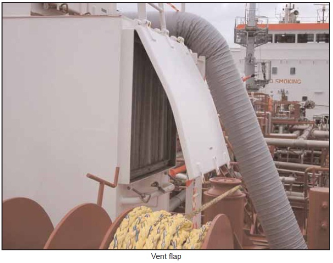 Explosion And Consequent Fire Onboard Chemical Tanker