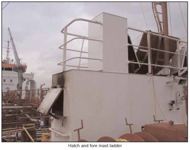 2013.11.25 - Explosion and Consequent Fire onboard Chemical Tanker - Investigation Report Figure 7