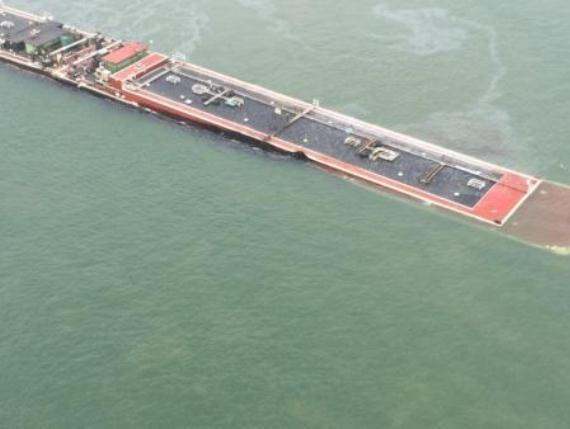 2014.03.23 - Barge Collision With Oil Spill in Houston Ship Channel Figure 2