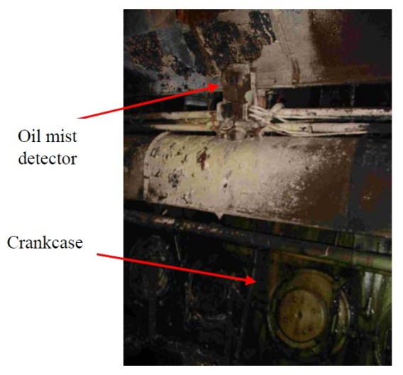 2014.03.24 - Engine Room Fire Onboard Oil Tanker - Investigation Report Figure 5