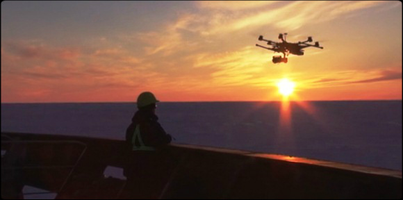 2014.03.27 - Use of Drones in POLAR Shipping