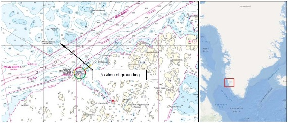 201.04.14 - General Cargo Ship Grounded While Avoiding Ice - Investigation Report Figure 2