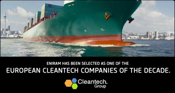 2014.05.23 - Eniram Cleantech Company of the Decade Figure 1