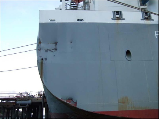 2014.12.26 - Tanker Crashes on Quay - Investigation Report Figure 03