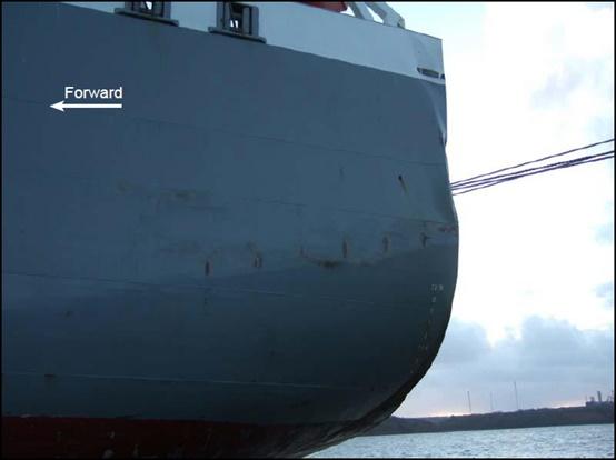 2014.12.26 - Tanker Crashes on Quay - Investigation Report Figure 04