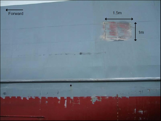 2014.12.26 - Tanker Crashes on Quay - Investigation Report Figure 05