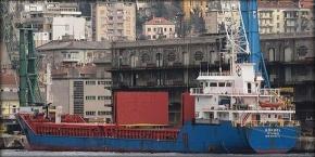 2014.12.29 - Turkish Cargo Ship Sinks Near Port of Ravenna, Italy