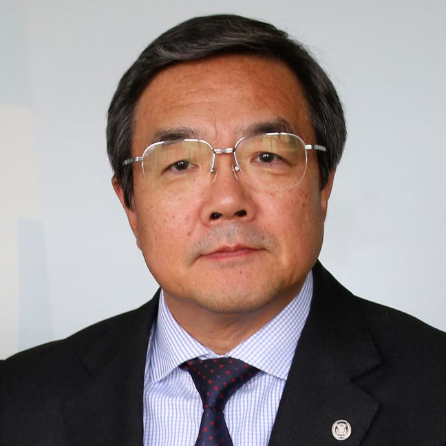 Author - Koji Sekimizu IMO General-Secretary